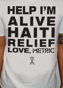 Help I'm Alive   Metric